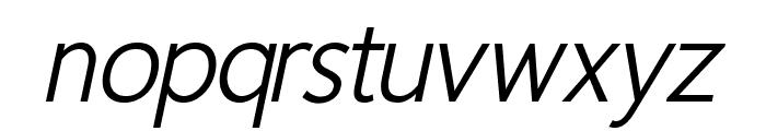 Homizio Nova Italic Font LOWERCASE