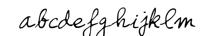 Honcho Font LOWERCASE