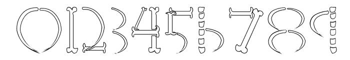 HoneBone-Hakkotsu Font OTHER CHARS