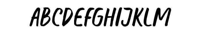 Honest Font UPPERCASE