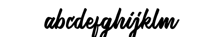 Honest Font LOWERCASE