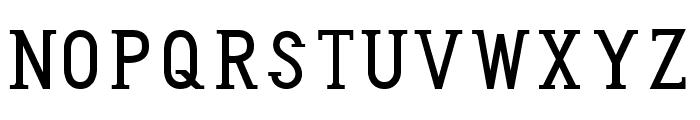 Honey Badger Font UPPERCASE