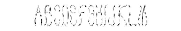 Honey Bee Regular Font UPPERCASE