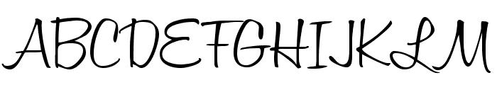 Honey Script Light Font UPPERCASE