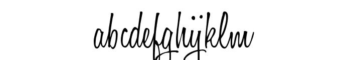 Honey Script Light Font LOWERCASE