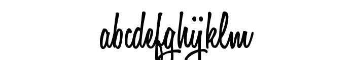 Honey Script SemiBold Font LOWERCASE
