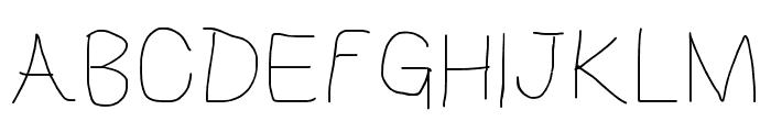 HoneyBee Beeline Font UPPERCASE
