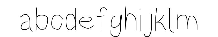 HoneyBee Beeline Font LOWERCASE