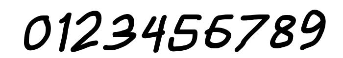 HoneyBee Black Italic Font OTHER CHARS