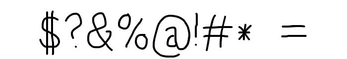 HoneyBee Light Font OTHER CHARS