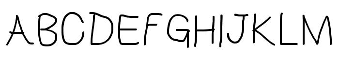 HoneyBee Light Font UPPERCASE
