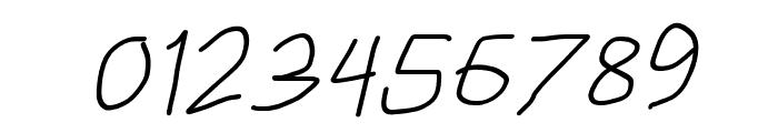 HoneyBee Semilight Italic Font OTHER CHARS