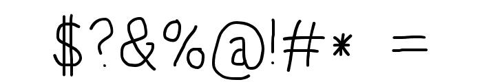 HoneyBee Semilight Font OTHER CHARS