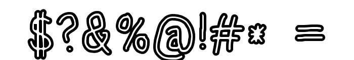 HoneyBee Stripe Font OTHER CHARS