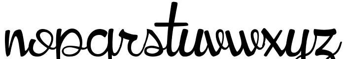 HoneyLlamaDemoVersion Font LOWERCASE