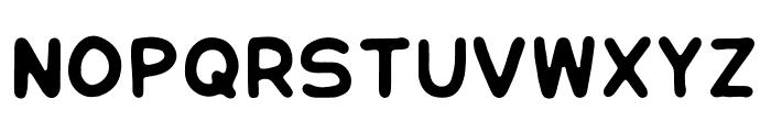 Honeybutter Font UPPERCASE