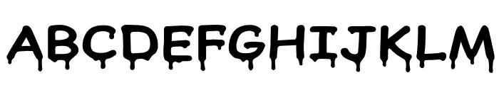 Honeydripper Font UPPERCASE