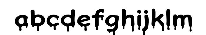 Honeydripper Font LOWERCASE