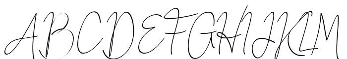 Honeymoon Avenue Script Font UPPERCASE