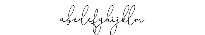 Honeymoon Avenue Script Font LOWERCASE