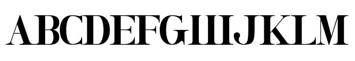 Honeymoon Avenue Serif Font UPPERCASE