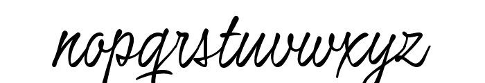 Honeymoon Up PERSONAL USE Font LOWERCASE