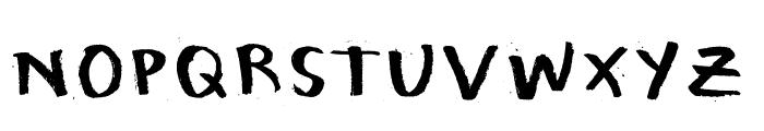 Honeytone Font UPPERCASE