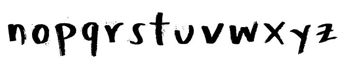 Honeytone Font LOWERCASE