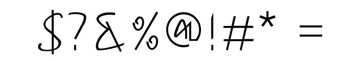 Hong Kim Regular Font OTHER CHARS