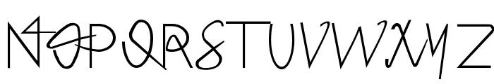 Hong Kim Regular Font UPPERCASE