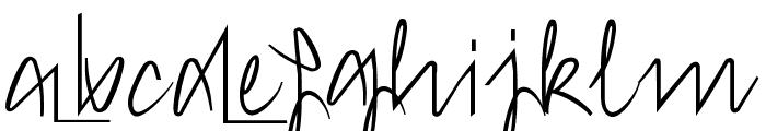 Hong Kim Regular Font LOWERCASE