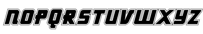 Hong Kong Hustle Academy Italic Font UPPERCASE