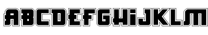Hong Kong Hustle Academy Regular Font UPPERCASE