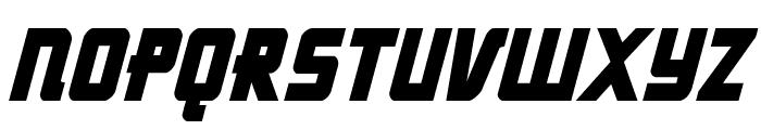 Hong Kong Hustle Condensed Italic Font UPPERCASE