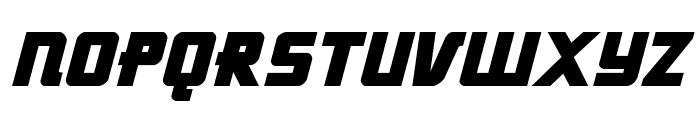 Hong Kong Hustle Italic Font UPPERCASE