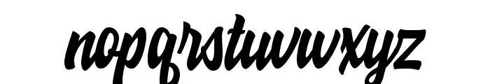 Hoodson Script Free Demo Regular Font LOWERCASE