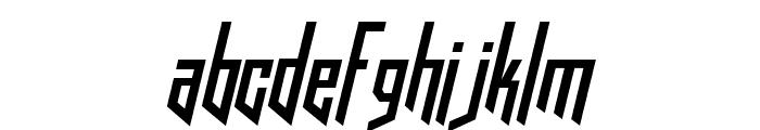HookedUpOneOhOne-Regular Font LOWERCASE