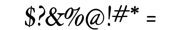 HopeRoundMedium Font OTHER CHARS