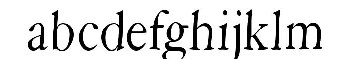 HopeRound Font LOWERCASE