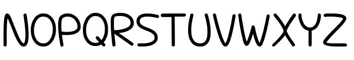 Hopelessly In Lurve Font UPPERCASE