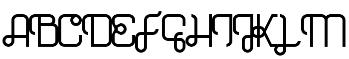 Hopscotch Regular Font UPPERCASE