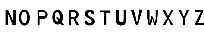 Hoptical Font UPPERCASE