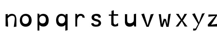 Hoptical Font LOWERCASE
