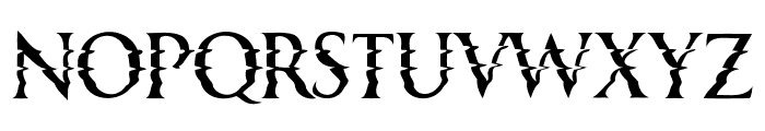 Horizons Regular Font UPPERCASE