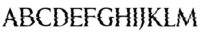 Horizons Regular Font LOWERCASE