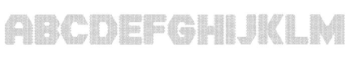 Hornettio Regular Font UPPERCASE