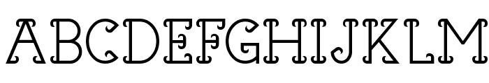 Horns of Dilemma Font UPPERCASE