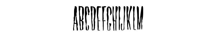 Horror Hotel Font UPPERCASE