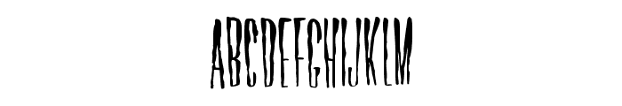 Horror Hotel Font LOWERCASE