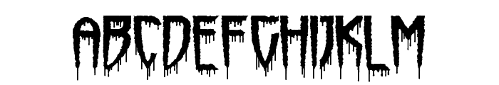 Horrorfind Font LOWERCASE